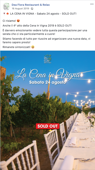 Cena In Vigna - Sold Out 2019_3